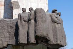 Monument de l'amitié des personnes Photos libres de droits