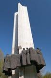 Monument de l'amitié des personnes Images stock