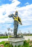 Monument 08 de l'indépendance d'Achgabat images libres de droits