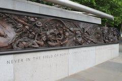 Monument de la deuxième guerre mondiale Image libre de droits