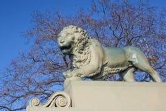 Monument de lion Photos stock