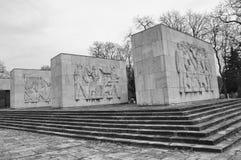 Monument de mémorial de Comunist photographie stock