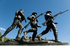 Monument de mémorial de guerre - Charlottetown - Canada images libres de droits