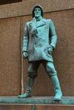 Monument de marins - Bergen Norway photo libre de droits