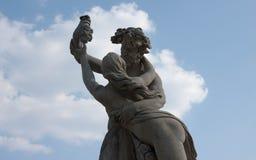 Monument de Mazury dans Ostroda en Pologne Photos libres de droits