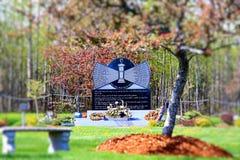 Monument de mineurs de Westray photo stock