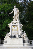 Monument de Mozart à Vienne Photo stock