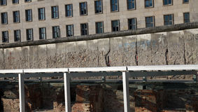 Monument de mur de Berlin, Allemagne. Image stock