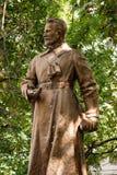 Monument de Mykola Oleksandrovich Shchors Photographie stock libre de droits