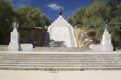 Monument de Napoleon I à Ajaccio, Corse Photo stock