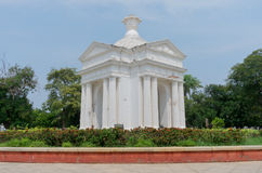 Monument de parc d'Aayi Mandapam dans Pondicherry, Inde Photographie stock