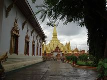Monument de Patuxai, Vientiane, Laos Image stock