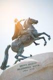 Monument de Peter le grand photographie stock libre de droits
