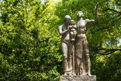 Monument de prière au parc commémoratif de paix d'Hiroshima images libres de droits