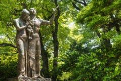 Monument de prière au parc commémoratif de paix d'Hiroshima photo stock