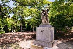 Monument de prière au parc commémoratif de paix d'Hiroshima photo libre de droits
