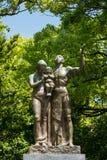 Monument de prière au parc commémoratif de paix d'Hiroshima image libre de droits