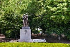 Monument de prière au parc commémoratif de paix d'Hiroshima photos libres de droits
