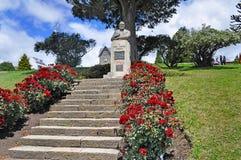 Monument de Primo Capraro en San Carlos De Bariloche Photo libre de droits