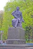 Monument de Pushkin Alexandre, poète russe célèbre, auteur, Kiev, Ukraine, Photos stock