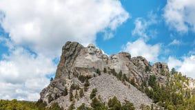 Monument de Rushmore de support dans le Dakota du Sud Image libre de droits