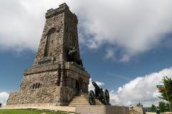 Monument de Shipka, Bulgarie : 18 06 2018 Parc-musée national Shipka, crête de Shipka bulgaria Bataille de mémorial de Shipka Photographie stock libre de droits