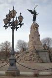 monument de sirène Photographie stock
