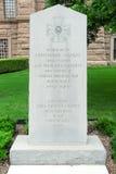 Monument de soldats confédérés Image libre de droits