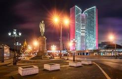 Monument de Stolypin dans Novy Arbat Images stock