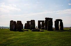 Monument de Stonehenge aux avions de Salisbury photos libres de droits