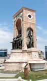 Monument de Taksim dans Beyoglu Istanbul Turquie photographie stock