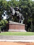 Monument 2007 de Tashkent Amir Temur Photographie stock libre de droits