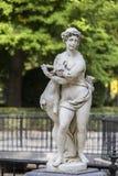 Monument in de tuinen van Aranjuez Royal Palace, Spanje stock afbeeldingen