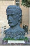 Monument de Vahid comme tête avec des caractères le sien Photos stock