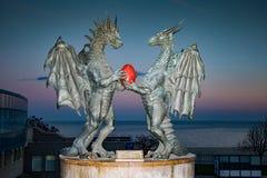 Monument de Varna Bulgarie Photo stock