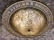 Monument de ventre de bière à Lviv, Ukraine photos libres de droits