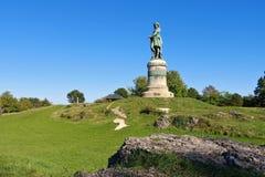 Monument de Vercingetorix en Bourgogne Image libre de droits