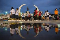 MONUMENT DE VILLE DE LA THAÏLANDE ISAN SURIN Photo stock