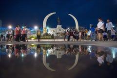 MONUMENT DE VILLE DE LA THAÏLANDE ISAN SURIN Photographie stock libre de droits