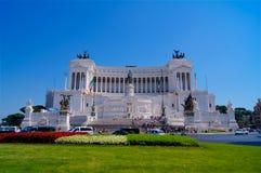 Monument de Vittorio Emanuele à Rome photographie stock libre de droits