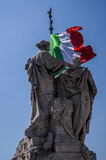 Monument de Vittorio Emanuele Photo libre de droits