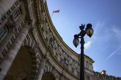 Monument de voûte d'Amirauté à Londres Image stock