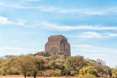Monument de Voortrekker, sur la colline de monument à Pretoria image stock