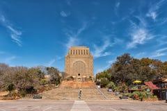 Monument de Voortrekker, sur la colline de monument à Pretoria images libres de droits