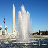 Monument de Washington Image libre de droits