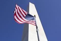 Monument de Washington Image libre de droits