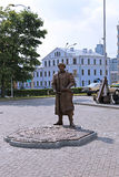 Monument dedicated to the getting of the Minsk Magdeburg rights Royalty Free Stock Images