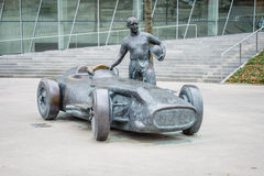 Monument dedicated to Juan Manuel Fangio Royalty Free Stock Photos