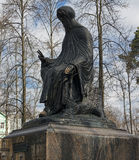 Monument dedicated to Saint  Savva Storozhevsky Stock Image