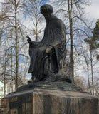 Monument dedicated to Saint  Savva Storozhevsky Stock Image